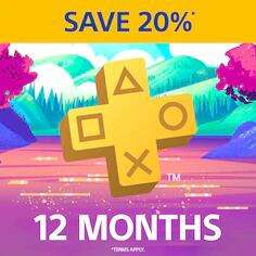 PlayStation Plus PS+ 12 Months Subscription £22.18 @ PlayStation Store PSN Indonesia