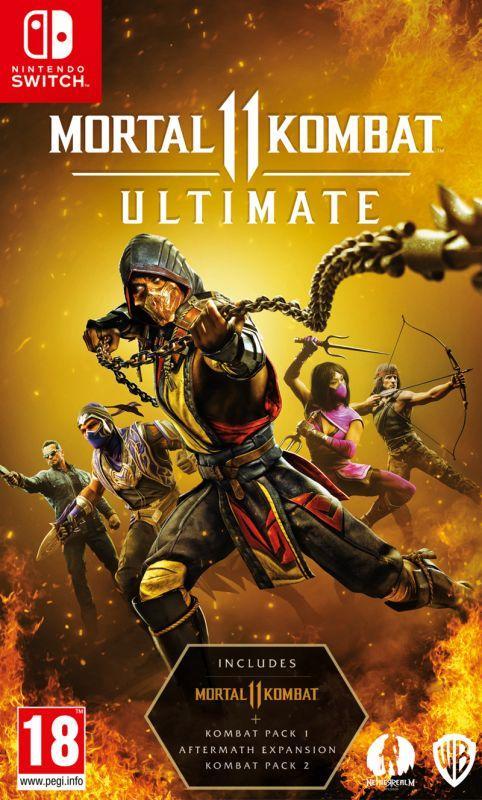 Mortal Kombat 11 Ultimate Nintendo Switch £18.35 Delivered using code @ GameByte