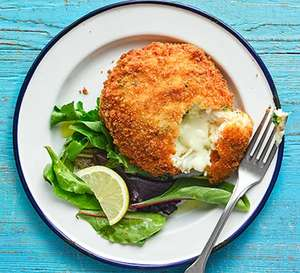 Cod and Parsley Melting Middle Fishcakes 520g - 99p at Farmfoods Llanelli