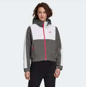 Women's Adidas Back To Sport Insulated Hooded Jacket Now £36.11 with code via app free delivery with creators club @ Adidas