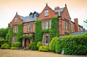 Cheshire: Four-star Country House Deluxe Double Room for Two with Breakfast and Cream Tea (2 Adults) £89.10 @ Groupon