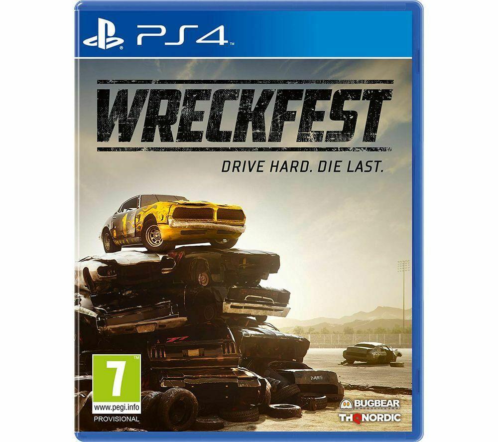 Wreckfest PS4 £12.97 delivered at Currys on eBay