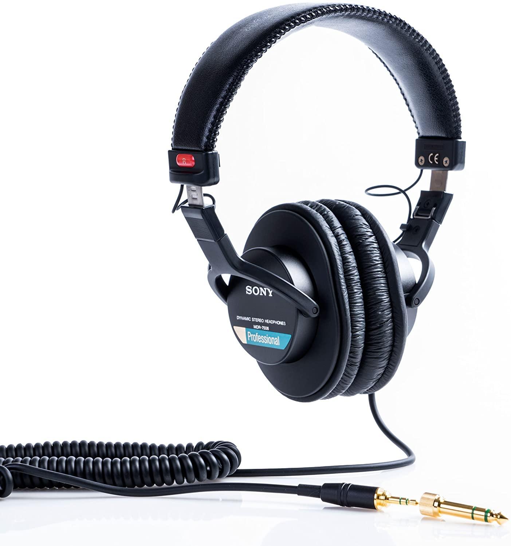 Sony MDR-7506/1 Professional Headphones Black £78 @ Amazon