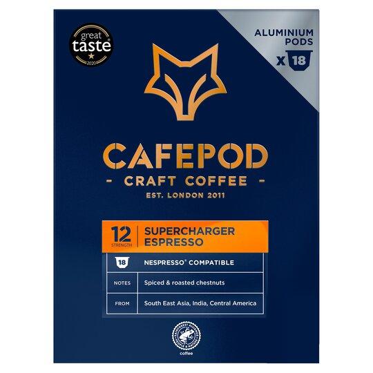 18! Pack Nespresso Aluminium Cafepod Capsules - £1 @ Tesco exmouth
