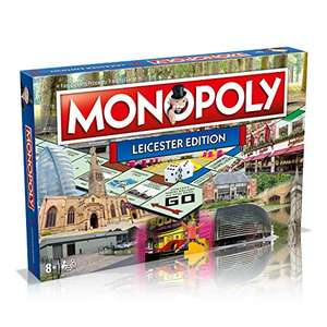 Leicester Monopoly Board Game £13.16 Amazon Prime / £17.65 Non Prime