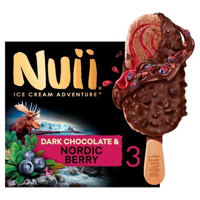 Nuii Dark Chocolate & Nordic Berry Ice Cream 60p at Asda Yorkshire