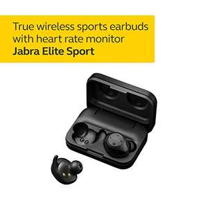 Jabra Elite Sport Earbuds Wireless Earphones with Integrated Fitness App for Calls and Music Black used very good £73.32 @ Amazon Warehouse