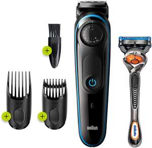 Braun BT3240 Beard and Hair Trimmer, 39 Length Adjustments (2 Pin) now £16.98 delivered (+£4.49 non prime) @ Amazon