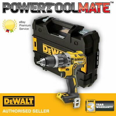Dewalt DCD796N 18v XR Brushless Compact Combi Hammer Drill Bare + Tstak DCD796NT £69.91 powertoolmate ebay
