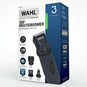 Wahl 360 Rotating 12 in 1 Body Groomer and Hair Clipper Kit with 3 year guarantee - now £19.99 click and collect @ Argos
