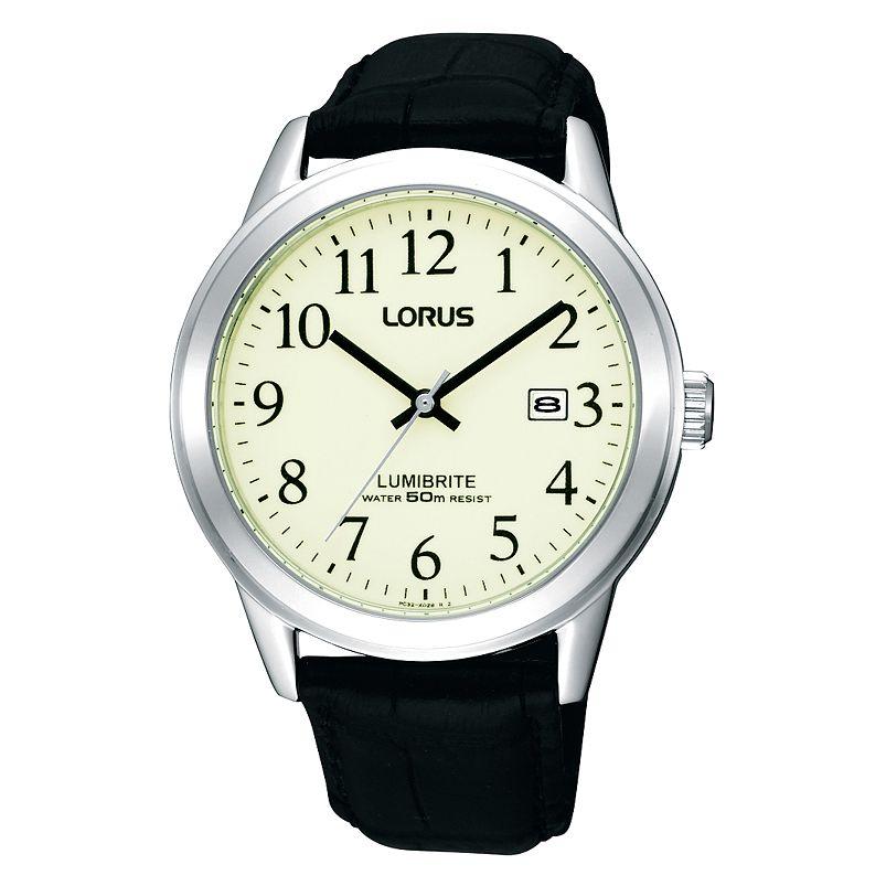 Lorus LUMIBRITE men's quartz watch for just £17.59 (C&C) with code at H Samuel