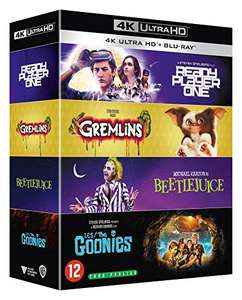 The Goonies / Gremlins / Beetlejuice / Ready Player One [4K Ultra HD + Blu-Ray] £38.80 delivered @ Amazon France