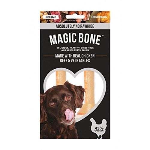 9 x Rosewood Magic Bone Chicken Medium 2pc 140g £3 Amazon Prime / £7.49 Non Prime