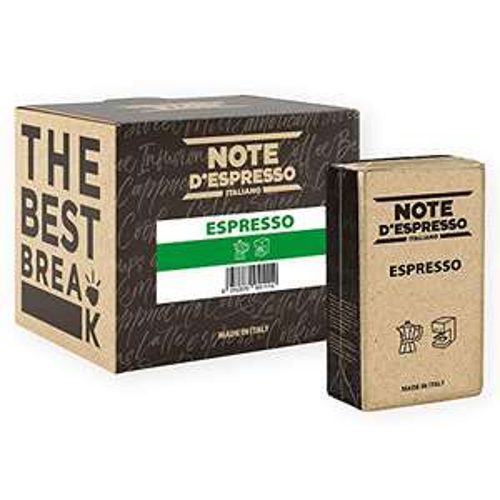 Note d'Espresso Espresso Vacuum-Packed Coffee 250g x 4 pack - £4.20 (+£4.49 Non-Prime) @ Amazon