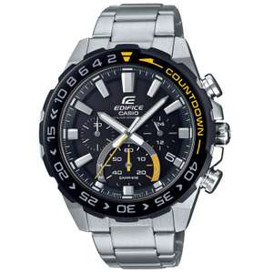 Casio Men's Edifice Solar Powered Sapphire Stainless Steel Bracelet Watch, £79.20 with code at H.Samuel