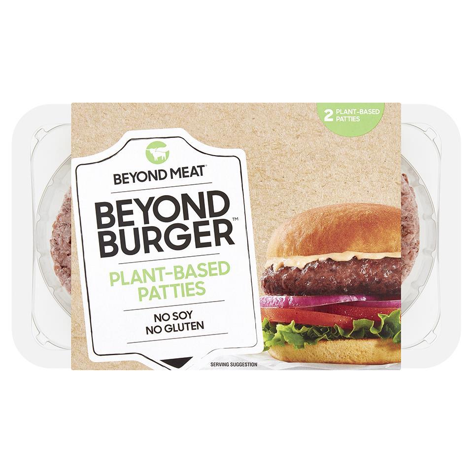 Beyond Meat Beyond Burger Plant Based Burger - £3.40 Clubcard Price (Minimum Basket / Delivery Fee Applies) @ Tesco