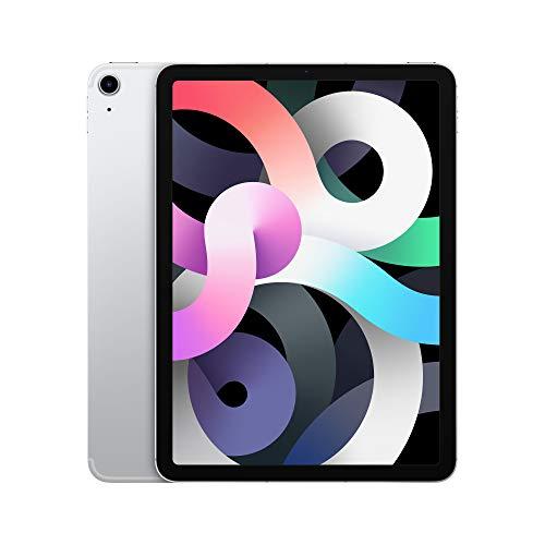 """iPad Air 4th Gen (10.9"""", Wifi + Cellular, 64GB) - Silver - £578.32 @ Amazon"""