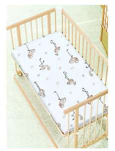 2 X Cot Bed Fitted Sheets, 60 x 120 cm - Flamingo - £5.56 Prime / £10.05 non Prime - Sold by Divine Textiles / fulfilled by Amazon