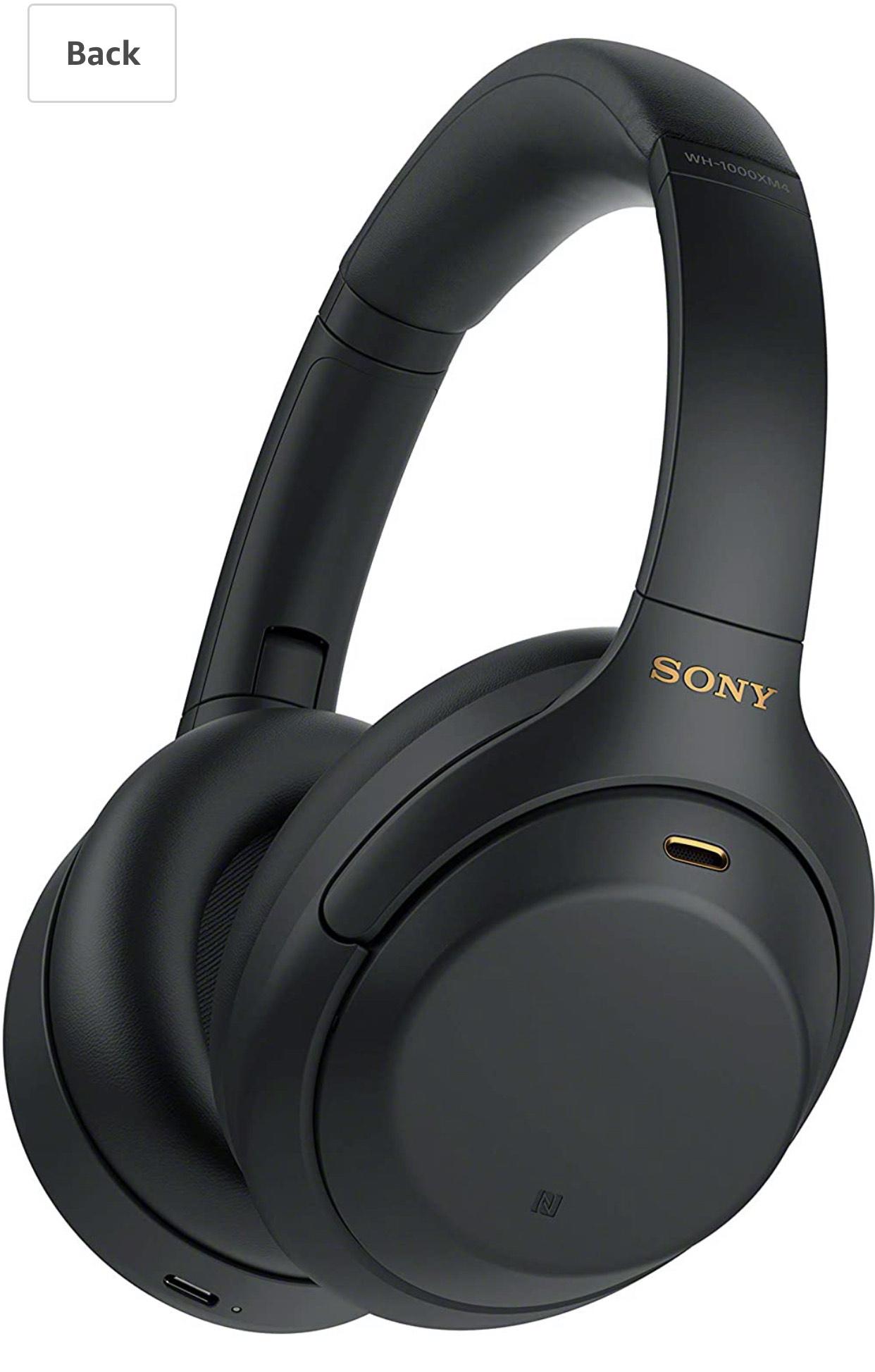 Sony WH-1000XM4 Noise Cancelling Wireless Headphones - £245.32 @ Amazon