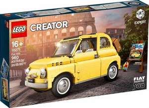 LEGO Creator Expert Vehicles 10271 Fiat 500 - £50 / 10265 Ford Mustang - £86 / 10258 London Bus - £78 with code @ Hamleys