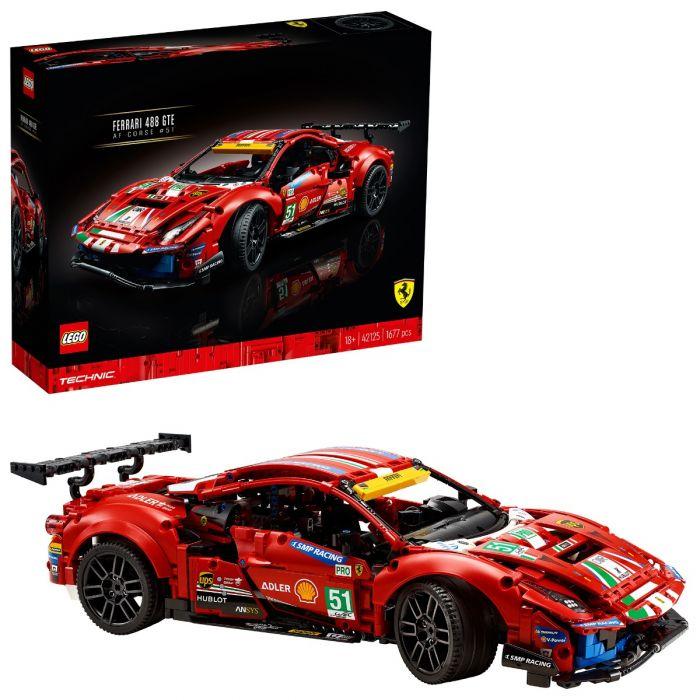 Lego Technic 42125 Ferrari 488 GTE - £120 delivered @ Starlings Toys