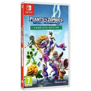 NINTENDO SWITCH Plants vs. Zombies: Battle for Neighborville Complete Edition - £16.99 delivered @ Currys PC World