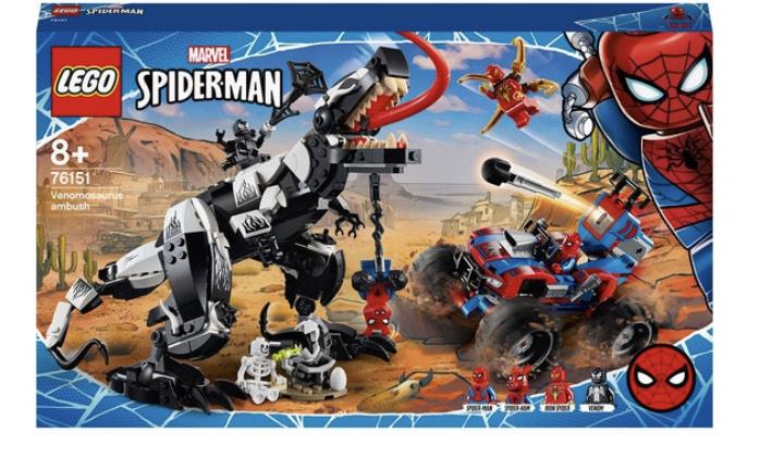 Lego 76151 Marvel Spider-Man Venom Venomosaurus Ambush Set - £59.99 delivered @ Smyths Toys