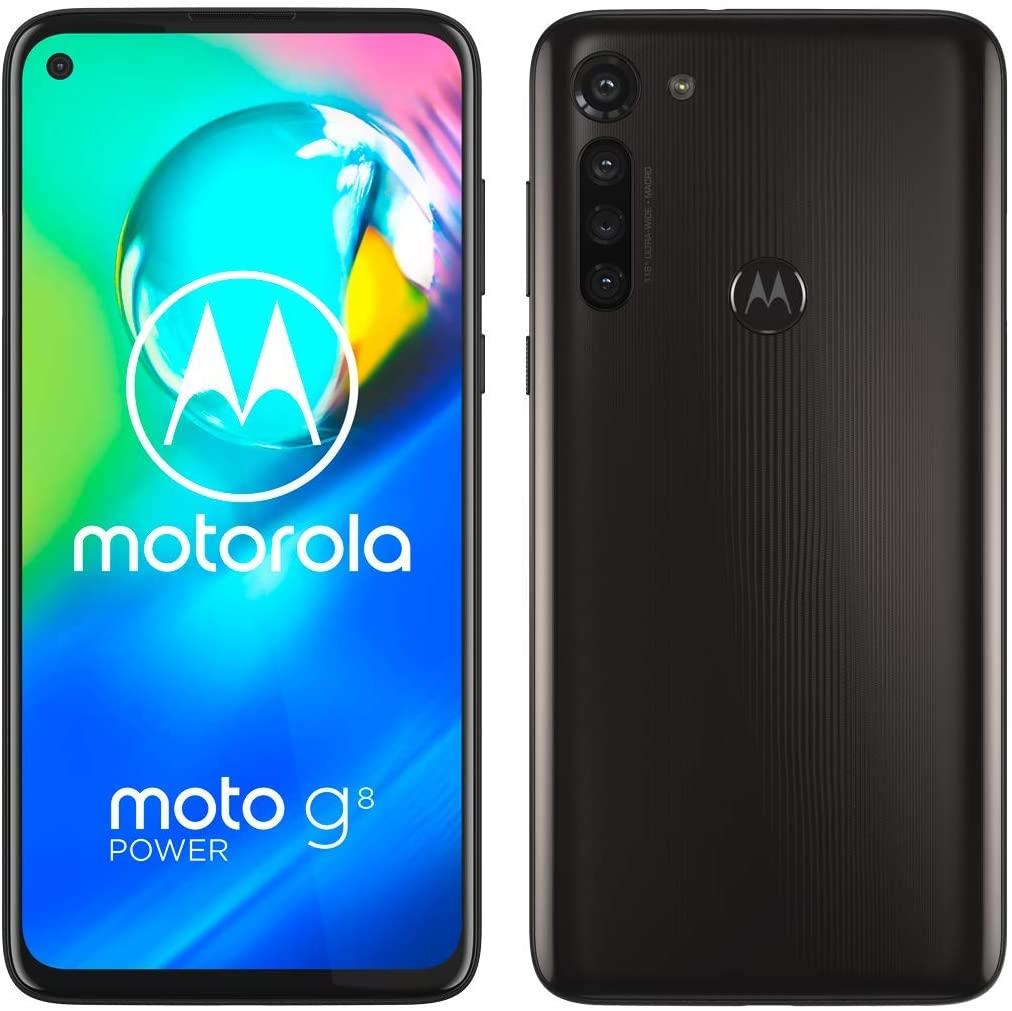 "Motorola G8 Power Smartphone, Android, 4GB RAM, 6.4"", 4G LTE, SIM Free, 64GB (Black or Blue) - £109 delivered @ John Lewis & Partners"