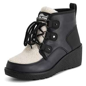 Polar Womens Low Wedge Heel Boots size 4 - £4.99 Prime (+£4.49 Non Prime) @ Sold by Prime Brands Group UK and Fulfilled by Amazon.