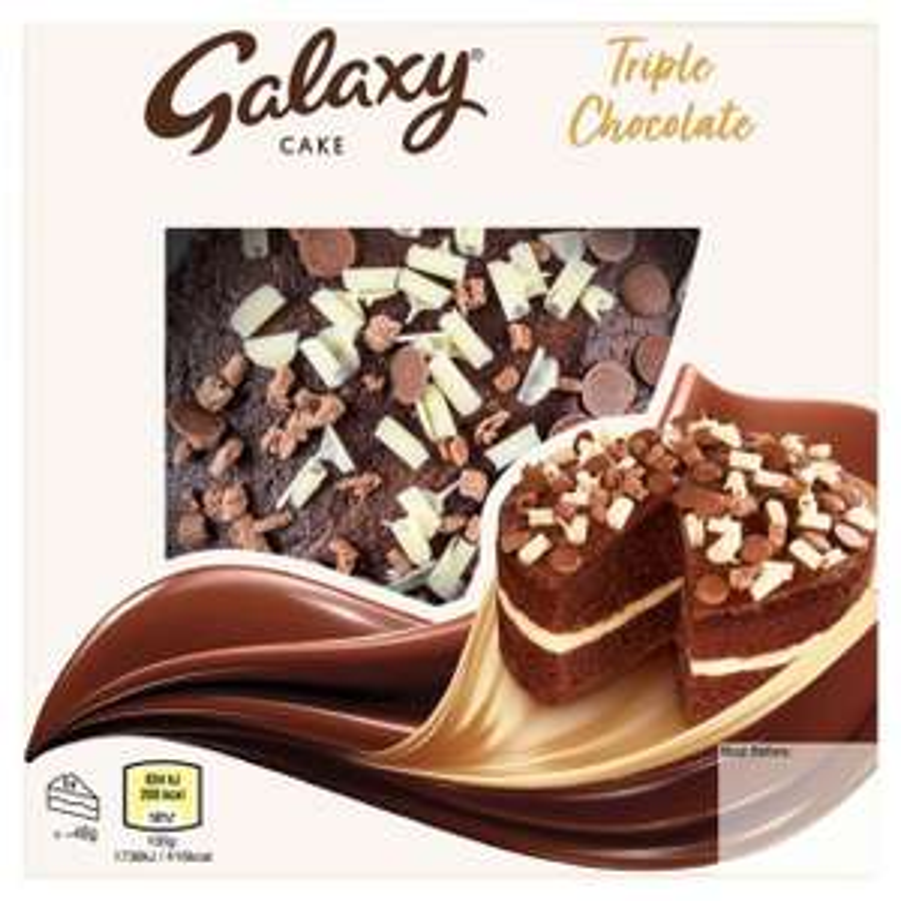 Galaxy Triple Chocolate Cake £2 @ Morrisons