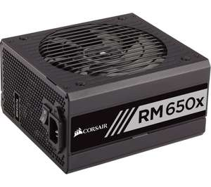 Corsair RM650x 650W Fully Modular 80+ Gold ATX PSU/Power Supply, £79.99 with code delivered @ Currys PC World