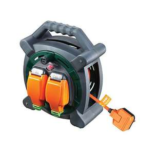 Masterplug Weatherproof Garden Extension Cable Reel - 20m 10A now £28 (Click & Collect) @ Wickes