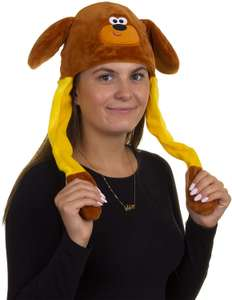 Hey Duggee Flappy Ears Hat (Adult Size) - £2.88 Prime (+£4.49 Non Prime) @ Amazon