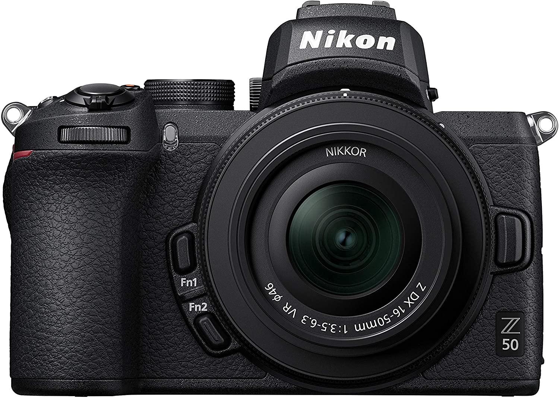 Nikon Z50 + Z DX 16-50mm Mirrorless Camera Kit (209-point Hybrid AF High speed image processing) Used Like New - £690.83 @ Amazon Warehouse