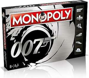 Monopoly James Bond 007 Edition Board Game - £25.04 @ Ebay / gamesedge