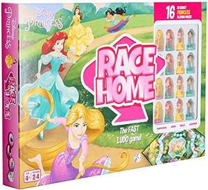 Disney Princess Race Home Ludo Board Game £9.97 (Prime) + £4.49 (non Prime) at Amazon