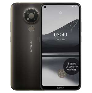 Nokia 3.4 6.39 Inch Smartphone With 3GB RAM and 32GB Storage (Dual SIM) - Charcoal - £79 Delivered (PAYG) @ O2 Shop