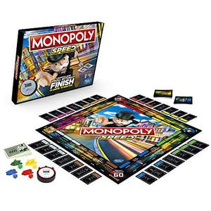 Monopoly Speed Board Game £8.72 (Prime) + £4.49 (non Prime) at Amazon