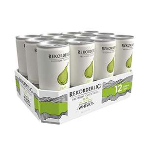 12 x 250ml REKORDERLIG PEAR WHISKY 5.5%abv Premium Swedish Cocktails Pear Cider with Whisky Can £11.27 (+£4.49 Non Prime) @ Amazon