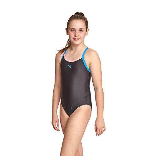 Zoggs Girl's Kerrawa Strikeback Swimsuit (6 Years) £6.55 (Prime) + £4.49 (non Prime) at Amazon