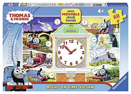 Ravensburger Thomas & Friends Tell The Time 60 Piece Clock Jigsaw Puzzle £4.30 (Prime) + £4.49 (non Prime) at Amazon
