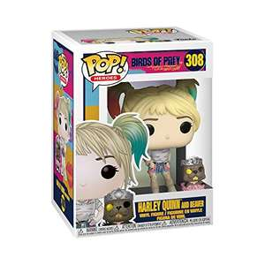 Funko 44378 POP Heroes: Birds of Prey-Harley Quinn w/Beaver £6.48 (Prime) + £4.49 (non Prime) at Amazon