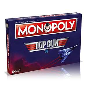Top Gun Monopoly Board Game £12.91 (Prime) + £4.49 (non Prime) at Amazon