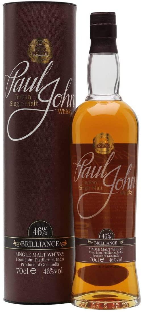 Paul John Brilliance Indian Single Malt Whisky 70 cl - £29.99 @ Amazon