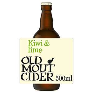 Old Mout Cider Kiwi & Lime, 12 x 50cl £6.10 prime / £10.59 nonPrime @ Amazon
