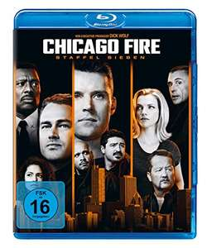 Chicago Fire Season 7 [Blu-ray] European import £18.78 prime / £21.77 nonPrime @ amazon.co.uk