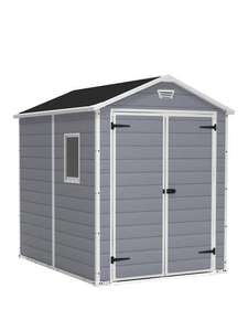 Keter 6x8 Ft Apex Manor Resin Garden Shed £549.99 + £19.99 delivery @ Very