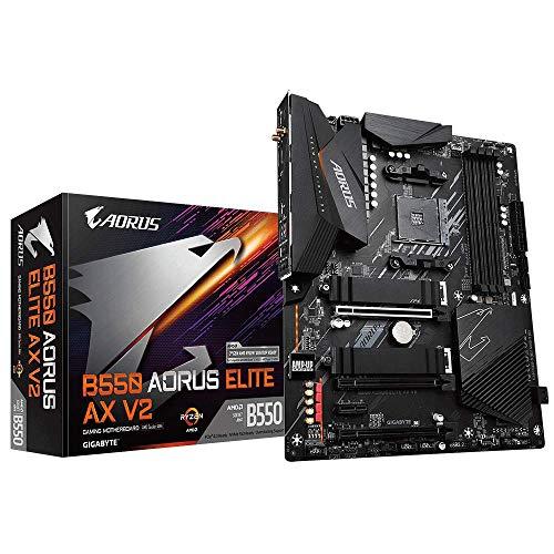 Gigabyte B550 AORUS ELITE AX V2 WiFi (AMD/AM4) Motherboard - £131.49 @ Amazon UK