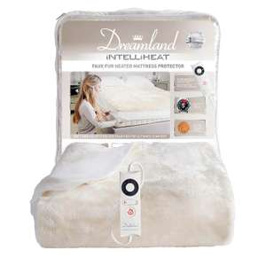 Dreamland Faux Fur Heated Single Mattress Cover - £14.75 (free click+collect) @ Dunelm