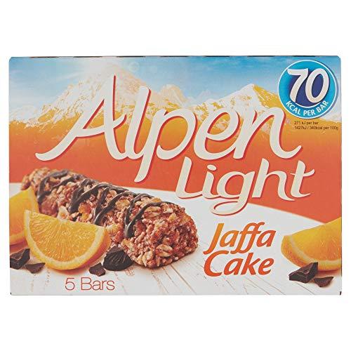 Alpen Light Jaffa Cake Bars, 95g £1 (+£4.49 Non Prime) @ Amazon
